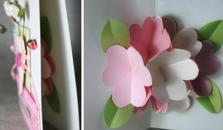 Открытки, открытки на 8 марта с цветами внутри